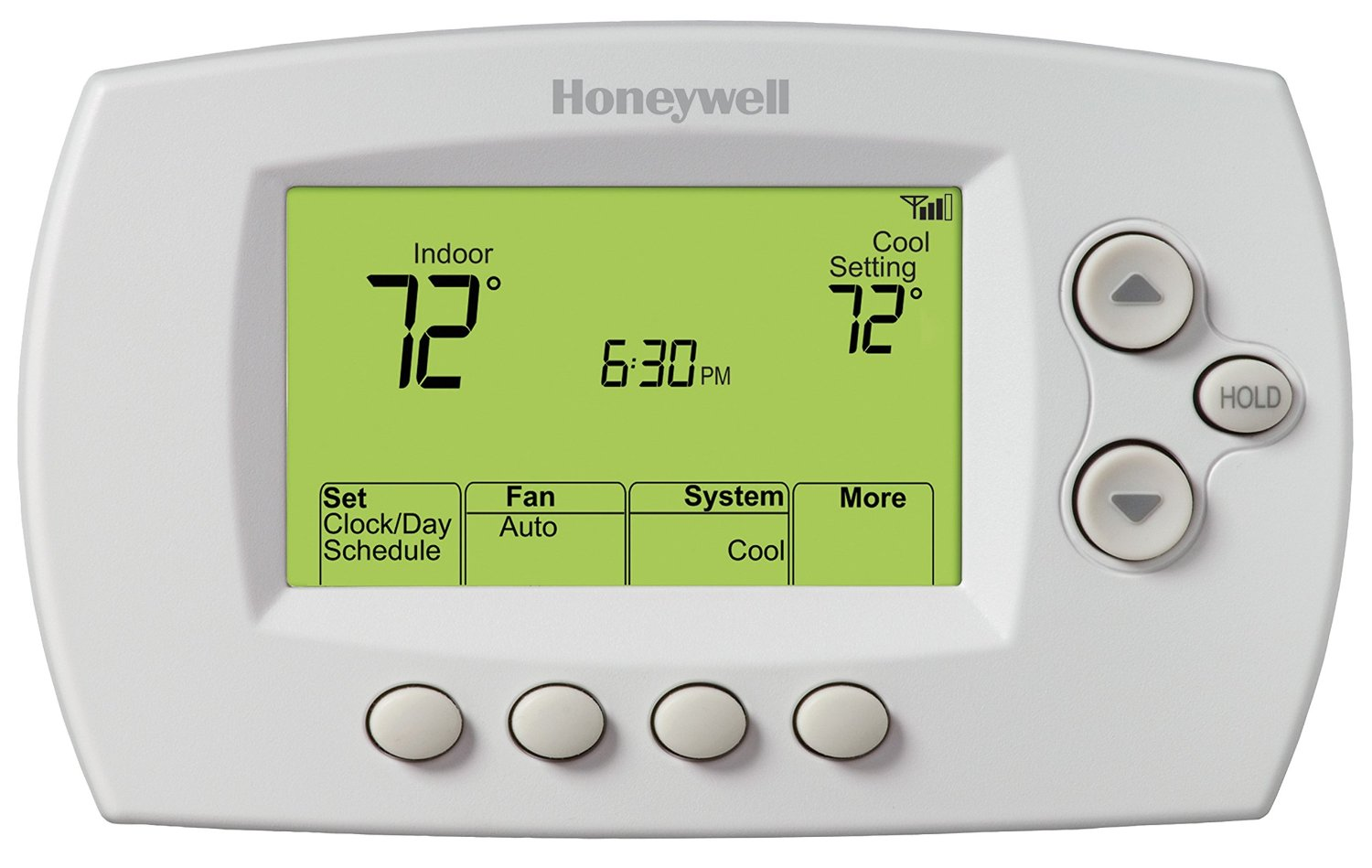 Review Honeywell Rth6580wf Wifi 7 Day Programmable Thermostat Smart Thermostat Guide