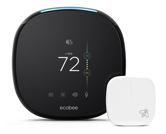 ecobee4 Alexa-enabled smart thermostat